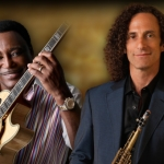 George Benson and Kenny G.