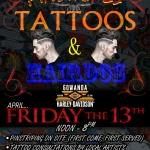 Pinstripes, Tattoos & Hairdos at Gowanda Harley