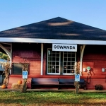 NYLE Rail Station in Gowanda NY