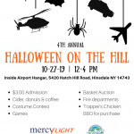 Halloween at the Olean Airport 2019 Poster