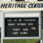 Allegany Heritage Center presents Larry Kilmer