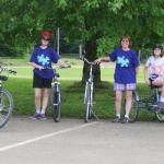 Family Bike At Allegany State Park