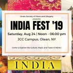INDIA Fest JCC Olean 2019