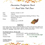 58th Annual Indian Foods Dinner Salamanca