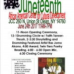 Juneteenth at JCC in Olean