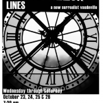 """""""Lines"""" Poster for SBU Live Theater"""