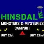 Hinsdale Monsters & Mysteries Campout at the Hinsdale House