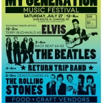 Poster for the My Generation Music Fest