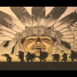 Native American presentation slide by David P. Castano