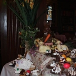 Carving Station at Old Library Inn's Easter Buffet