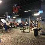 Inside of Challenger Learning Center