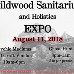 Holistic Expo and Psychic Fair at Wildwood Sanitarium