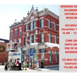 Reindeer Day at the Salamanca Historical Society Museum 2018