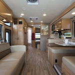 inside a new RV