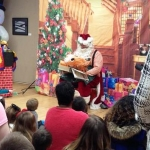 Santa at the Olean Public Library