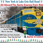 Santa Express Train Rides in Gowanda NY
