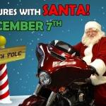 Santa at Gowanda Harley