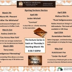 2019 Spring Lecture Series at the Seneca-Iroquois National Museum