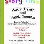Archaeological story time with Canticle Farm