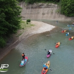 SUP and Kayaking down the Catt Creek with Adventure Bound on the Fly
