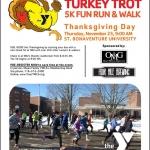 2017 Turkey Trot at St. Bonaventure University