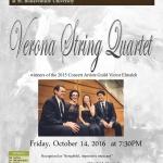 Verona String Quartet at St. Bonaventure