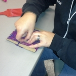 Cardboard Weaving with Tri-County Arts Council