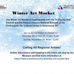 Winter Art Market poster
