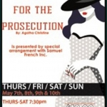 Poster for OTW's Witness for the Prosecution