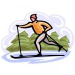 skier clip art