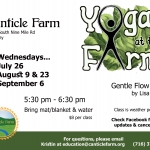 Yoga at Canticle Farm