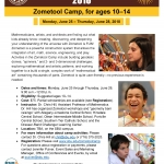 Zoomtool Camp for kids at St. Bonaventure University