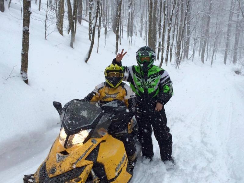 Snowmobile Season in Cattaraugus County