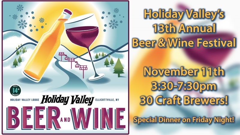 Holiday Valley Beer and Wine Fest 2017