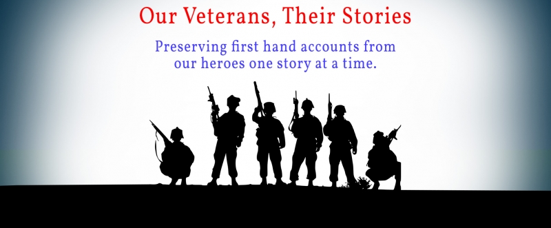Veterans stories logo