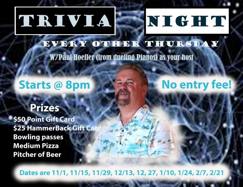 Trivia Night with Paul Hoefler