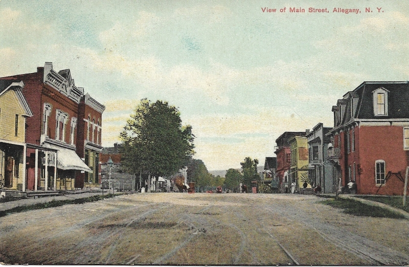 Allegany Main St. Historical Photo