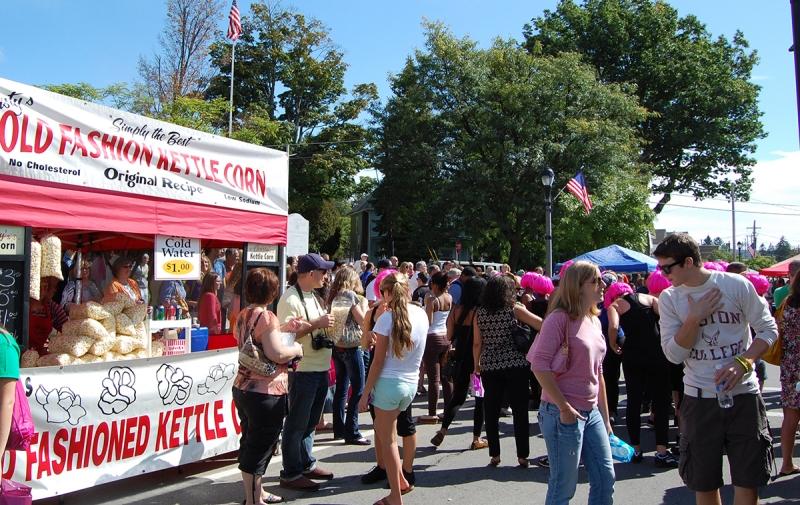 Bonagany festival in Allegany NY