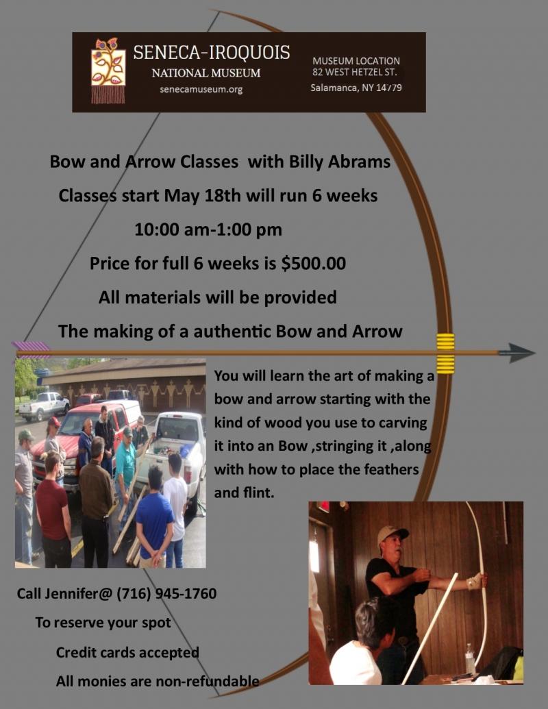 Bow and Arrow Class Flyer