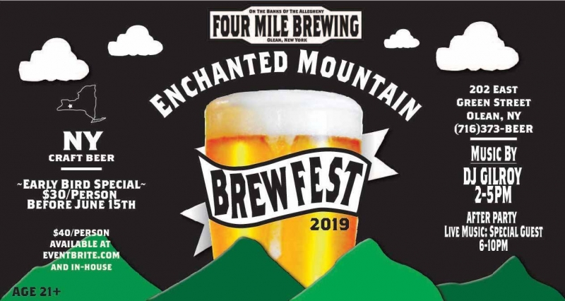 2019 Four Mile Brewing Ecnanted Mountain Brew Fest