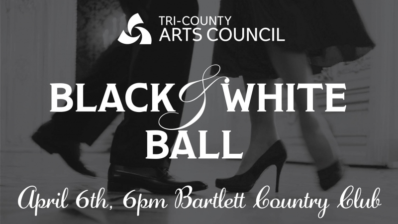 Black and White Ball for Celebration of the Arts