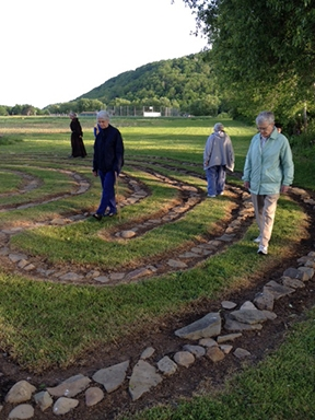 Canticle Farm Labyrinth