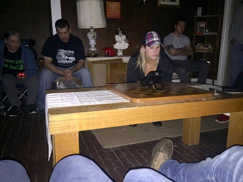 Chelsea Gill at the Haunted Hinsdale House