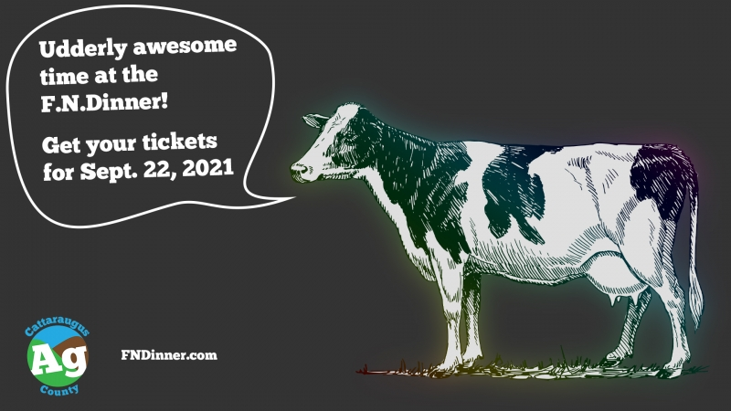 Udderly awesome time at the F.N. Dinner! Get your tickets for Sept. 22, 2021