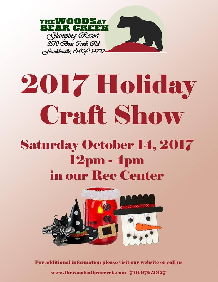 2017 Holiday Craft Show at The Woods at Bear Creek
