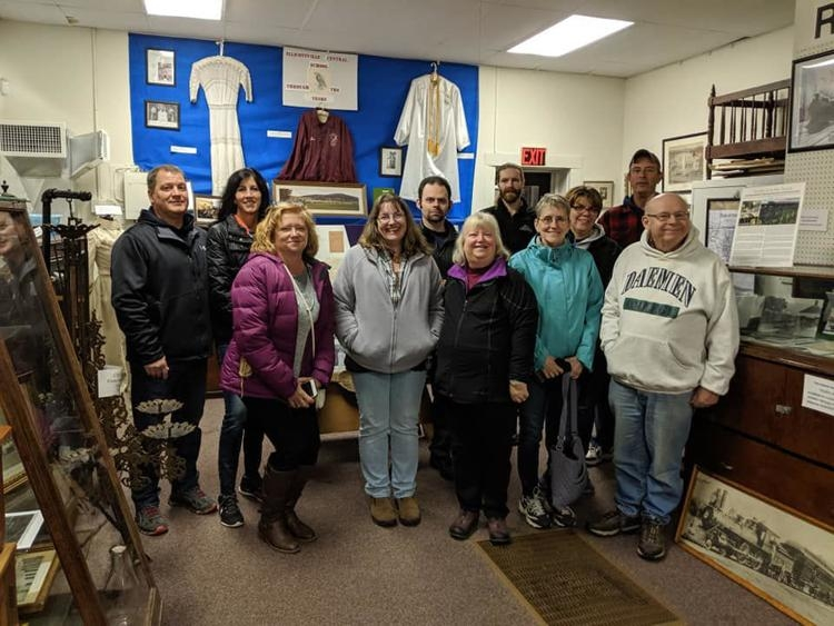 EllicottvilleHistorical Society group outing - Deb Everts