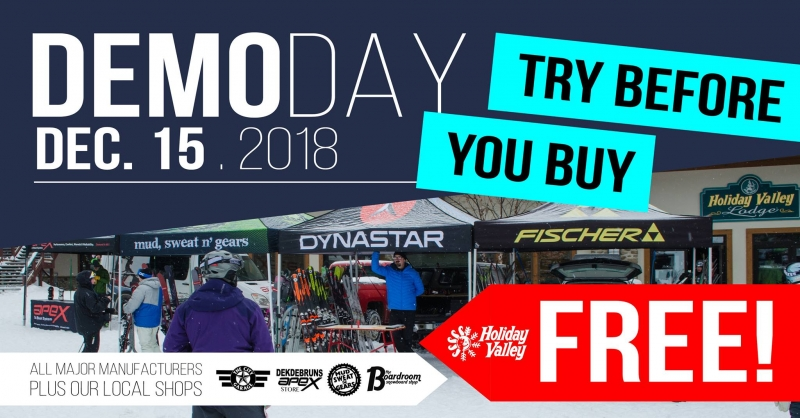 Demo Day at Holiday Valley 2018
