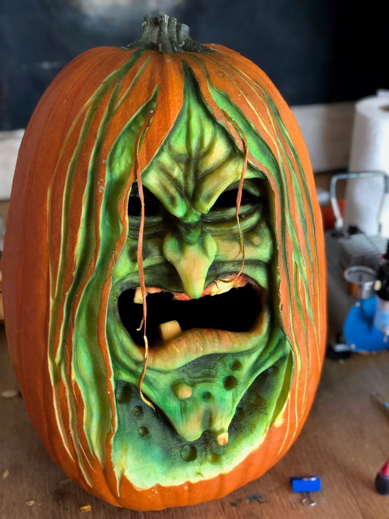 Pumpkin Carving by Eric Jones