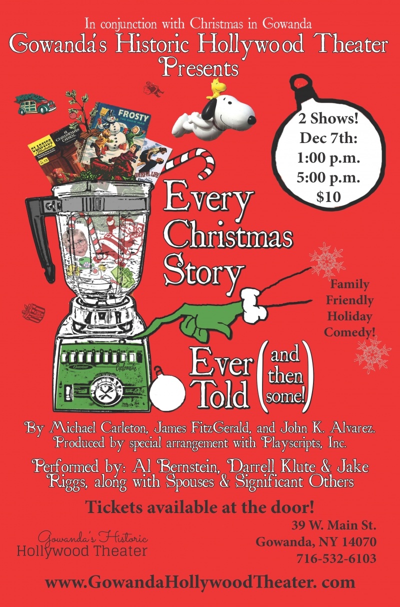 Every Christmas Play Poster at Hollywood Theater