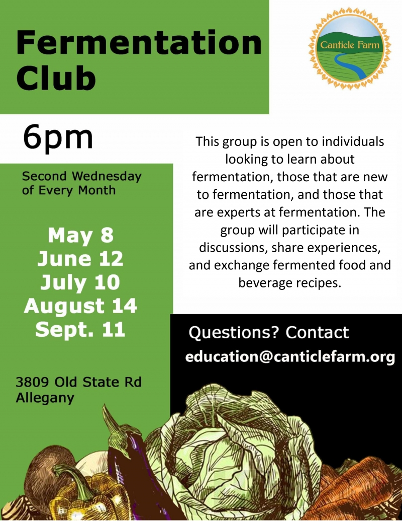 Fermentation Club at Canticle Farm